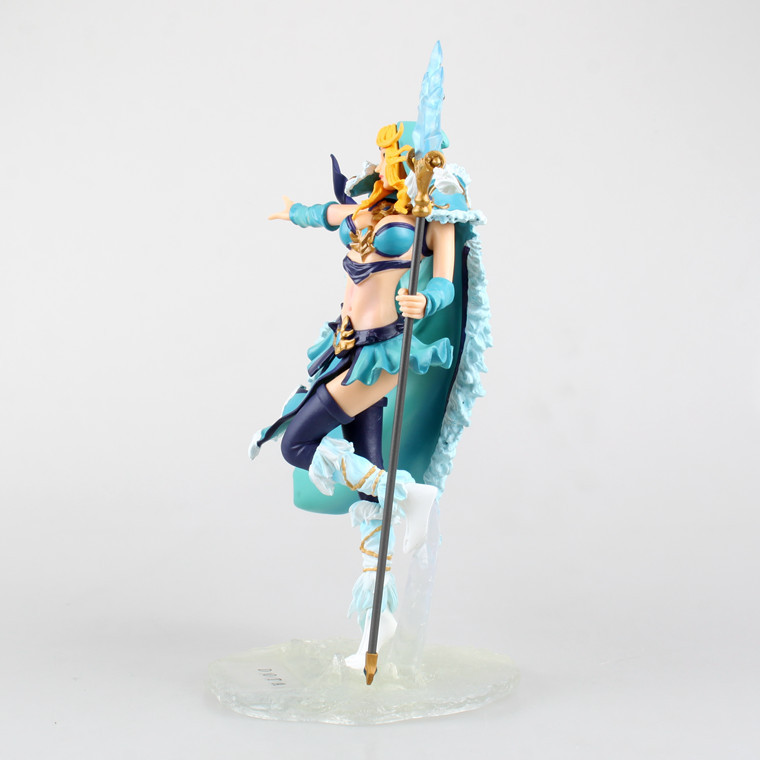 Stock Sale! PVC DOTA Crystal Maide/ Game Doll/ Action Figure/ Model Toy for Christmas Gift 22cm Free Shipping