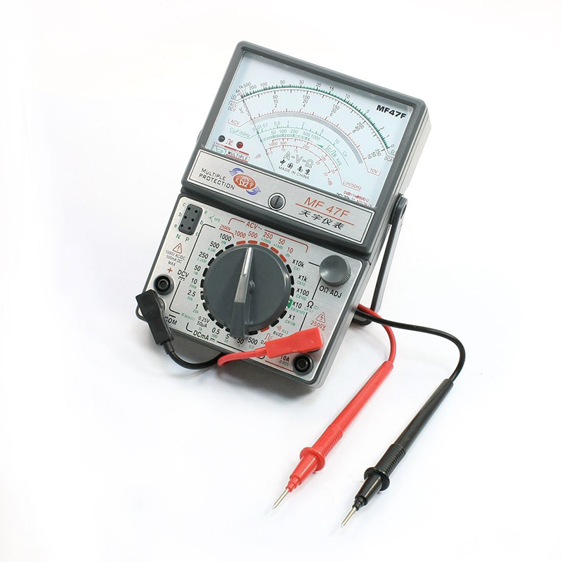 MF47F AC DC Voltmeter Ammeter Ohmmeter analogue multimeter ampere volt ohm meter clearaudio professional analogue toolkit