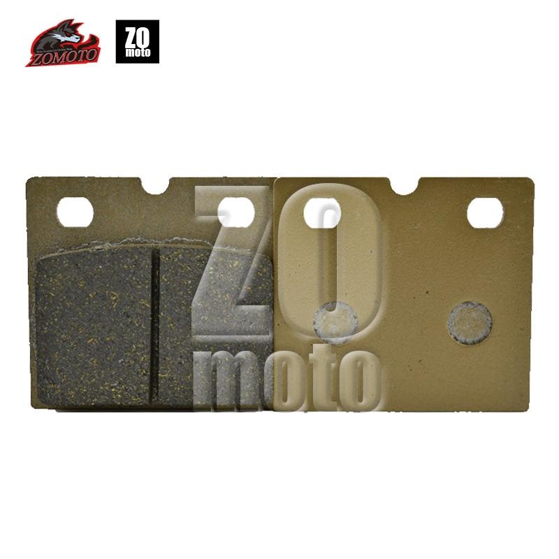 2016 Newet ZOMOTO Moto-Accessories Disc Brake Pads fit for DUCATI 600 650 750 751 INDIAN Chief  Dark Horse LAVERDA MOTO GUZZI fit wp 751