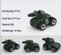 37 Pçs/set Marines Modelo Kits de Construção Bloco de Construção de Brinquedos de Construção Do Carro Brinquedos Educativos Presente para As Crianças Universal Parte XWJ75