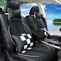 A cuadros m3 insuficiencias santana vw asientos viscosa transpirable fundas de asiento de coche cubierta de asiento de auto passat phaeton polo lavida bora cc