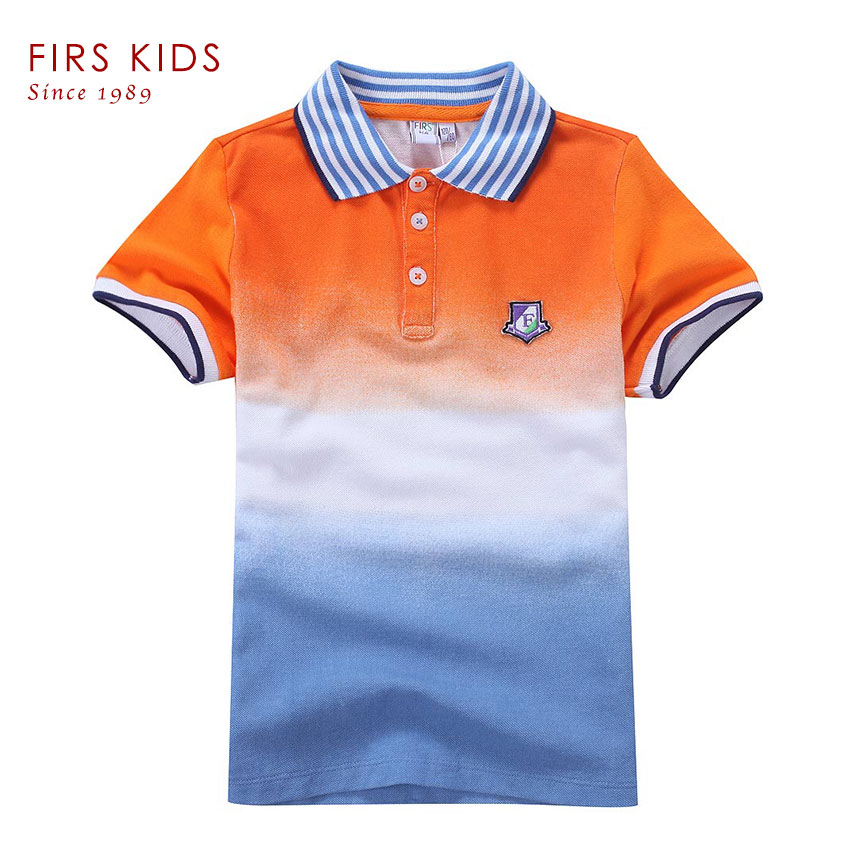 2016 firs kids boy polo shirt short sleeve kids t shirts