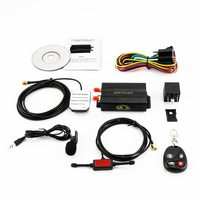 New TK103B GPS SMS GPRS Tracker remote monitoring tamper alarm fuel cut off dead zone pass SOS illegal ignition alarm