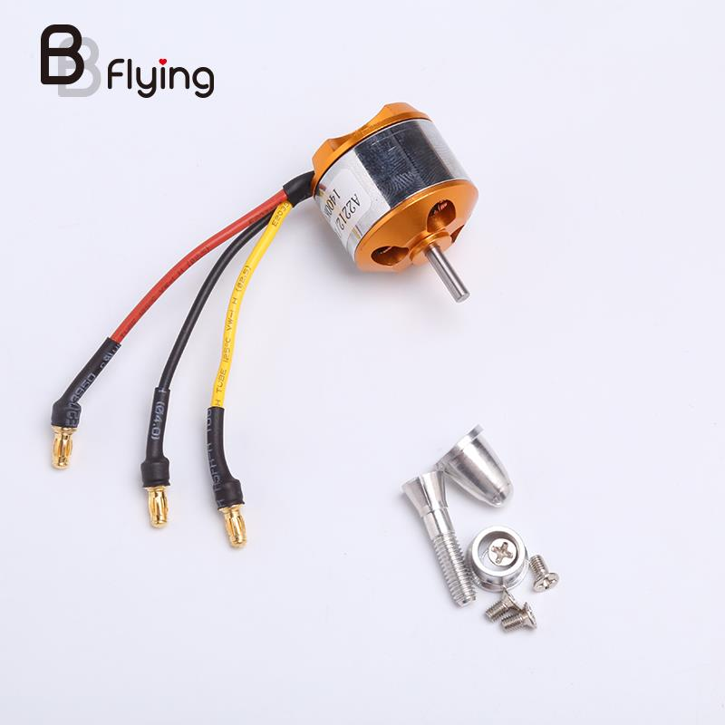 XXD A2212 1000KV Brushless Outrunner Motor For Quadcopter RC Multi-copter xxd a2217 2217 950kv 1250kv 1500kv 2300kv 2 3s outrunner brushless motor for quadcopter multicopter hexa octa multi rotor copt