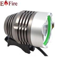 1800 Lúmenes XM-L T6 LED de La Bicicleta LED Luz de la Linterna + 6400 mah batería o 2 unids