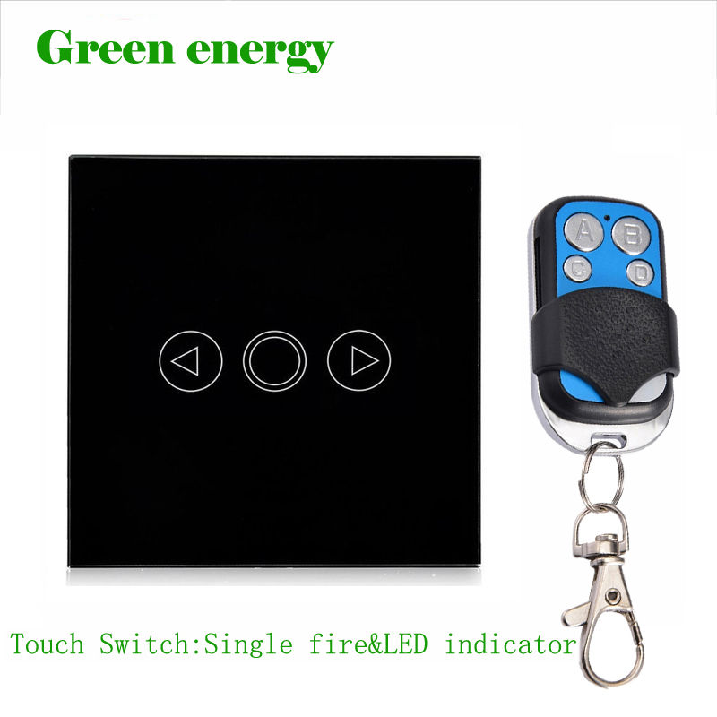 Free Shipping,EU Standard touch remote dimmer switch for light,Wall Switch, Black  Glass Panel, Wall Light Touch Dimmer Switch 2017 free shipping smart wall switch crystal glass panel switch us 2 gang remote control touch switch wall light switch for led
