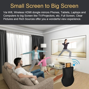 Image 3 - TV Stick WiFi Display Dongle HD HDMI Media Video Streamer เครื่องรับสัญญาณ Dongle สำหรับ Chromecast 2 3 Chrome chrome Cast
