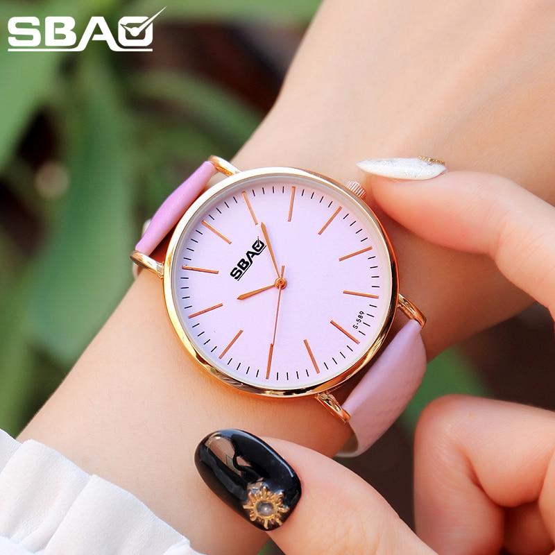 SBAO Reloj para mujer Discolor impermeable al aire libre Sunshine - Relojes para mujeres