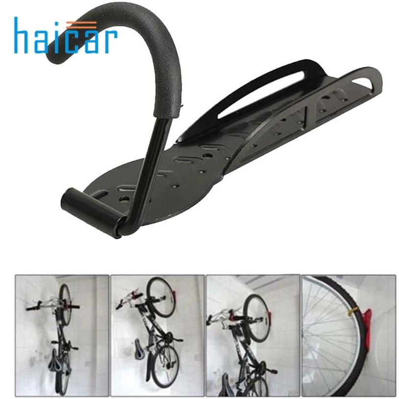 Bicycle Bike Cycling Wall Mount Hook Hanger Garage Storage Holder Stand Rack