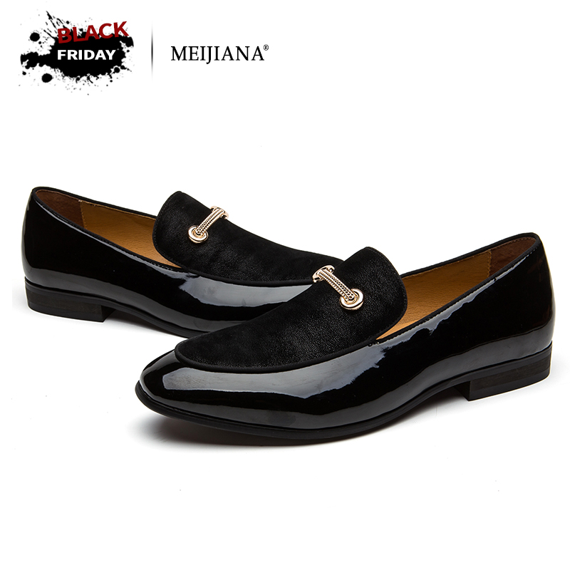 MEIJIANA Dress Loafers Retro Tassel Formal Shoes For Men Charming Men Footwear Brand Business Banquet Shoes the banquet business