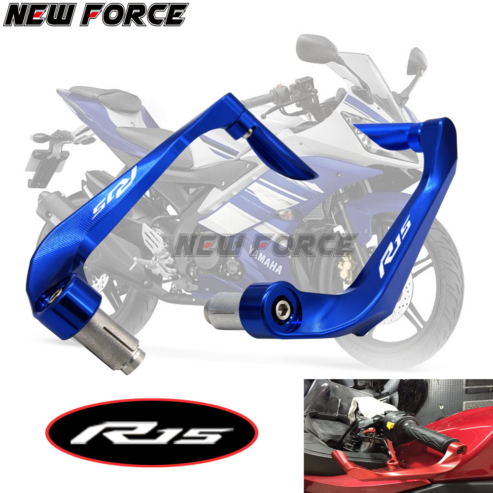 Universal 7/8 22mm Motorcycle Handlebar Brake Clutch Levers Protector Guard For YAMAHA R15 indian version 2011-2014Universal 7/8 22mm Motorcycle Handlebar Brake Clutch Levers Protector Guard For YAMAHA R15 indian version 2011-2014