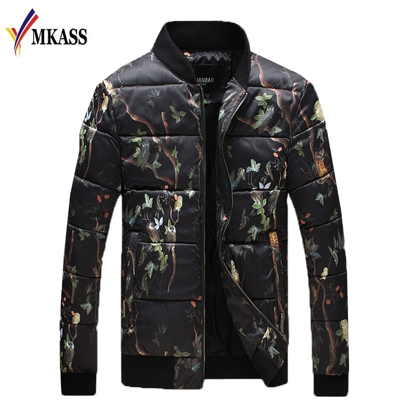 Brand Winter Men Jacket 2017 Casual High Quality Soild Color Mens Jackets And Coats Thick Parka Male Outwear Large Size 5XL