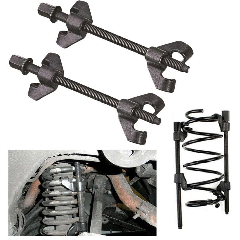 1 Pair 380MM Universal Car Suspension Spring Compressor Manual Shock Absorber Spring Disassembler Car Repair Tool