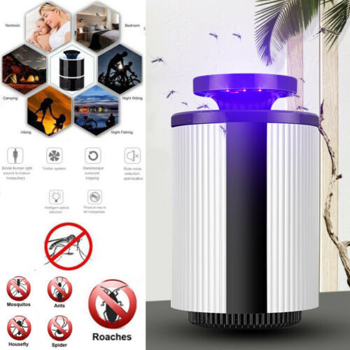 USB Mosquito Insect Killer Electric LED Light Fly Bug Zapper Trap Catcher Lamp USB Gadgets 1