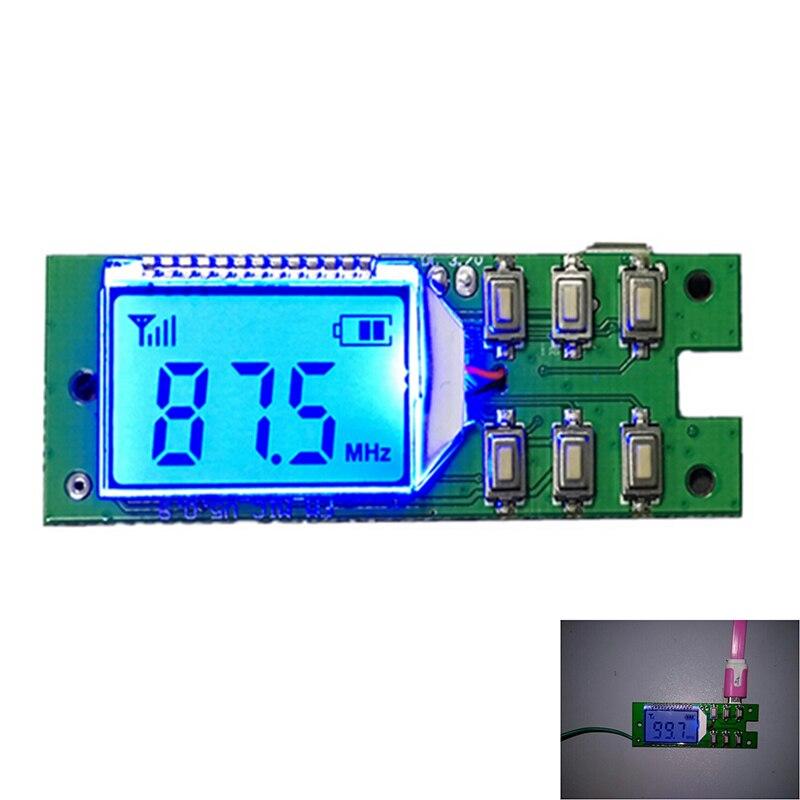 FM Transmitter Module Wireless Microphone Circuit Board 87 0MHz 108 0MHz Computer Audio Transmitting DC 3