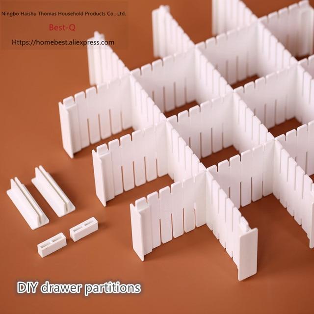 Miễn phí vận chuyển Miễn kết hợp ngăn kéo phân vùng/hoàn thiện lưới/ngăn kéo separator/lưu trữ phân vùng/nhựa phân vùng