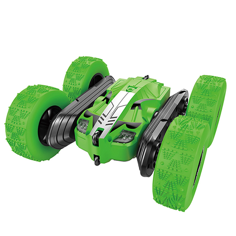 Rc Stunt Car For Kids & Adults 4Wd Off Road Climbing 2.4Ghz Remote Control Vehicle Double Sided Rtr Gif