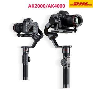 Image 1 - FeiyuTECH AK2000 AK4000 3 Trục Ổn Định Camera Handhel Gimbal Cho Sony Canon 5D Panasonic GH5 Nikon Estabilizador De Camera
