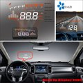 For Ford Ranger / Raptor 2015 2016 Car Head Up Display Saft Driving Screen Projector - Refkecting Windshield