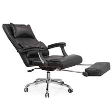 Luxurious and comfortable office chair at the boss computer chair flat multifunction chair capable of rotating and lifting(China)