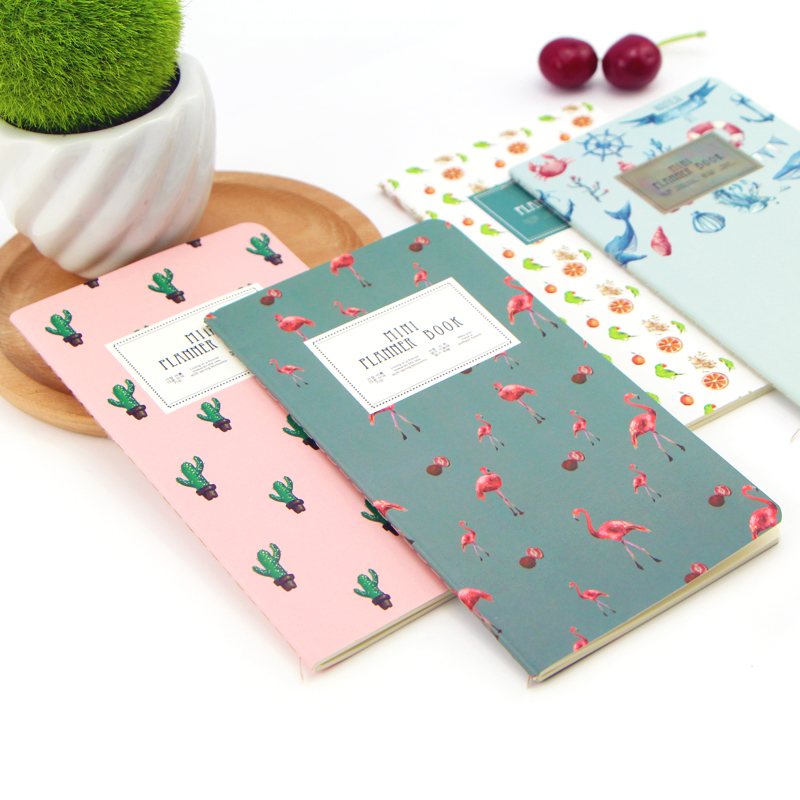 48 Page Cactus-Flamingo-Cherry Planner Notepad 1