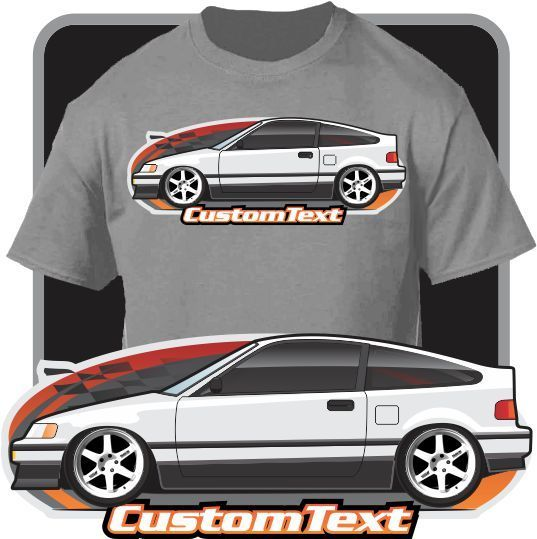 Print Men T Shirt Summer Custom Art T-Shirt Inspired on 1987-1991 SiR not affiliated with Classic Japanese car fans Tee