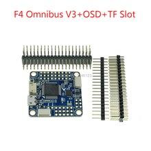 Date F4 Pro Contrôleur de Vol F4 Omnibus V3 + OSD + TF Slot Mise À Jour pour RC FPV Quadcopter De Course Intérieure Drone