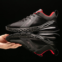 ONEMIX Air 270 Men's Breathable Running Shoes Sport New jogging shoes shock absorption cushion soft midsole leather Max shoes