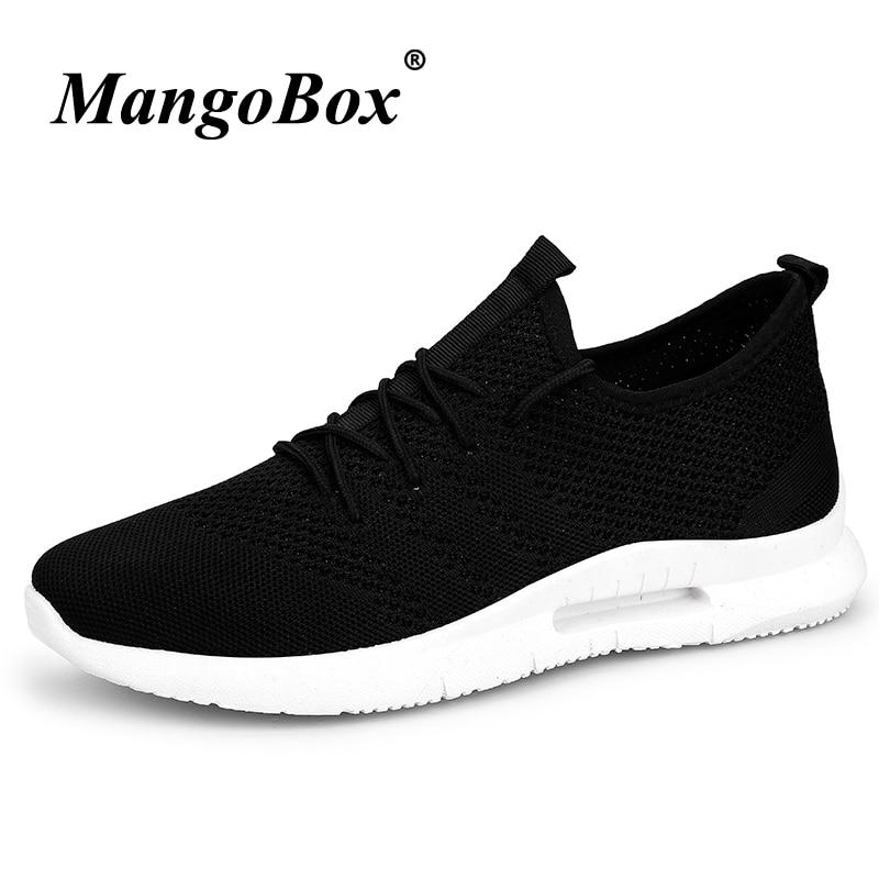 Man Running Shoes Breathable Athletic Footwear Male Black White Man Sneakers Sport Anti-slip Lightweight Jogging Sneakers Male