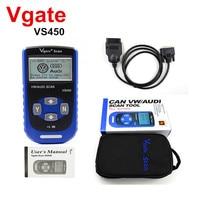 Original Vgate VS450 CAN OBDII Scan Tool For Audi VAG Com for VW Car OBD2 Scanner Automotive Diagnostic For Jetta GTI