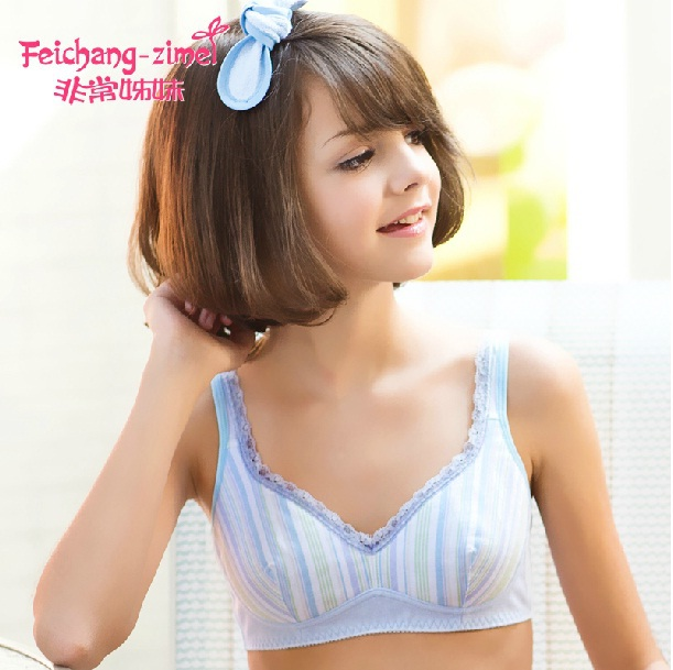 dad657d1c03f3 Free Shipping 2016 Feichang-zimei Teenage Girl Underwear Girl Bras Training  Bras for 12Y to 15Y Old Pubescent Girls-CS621