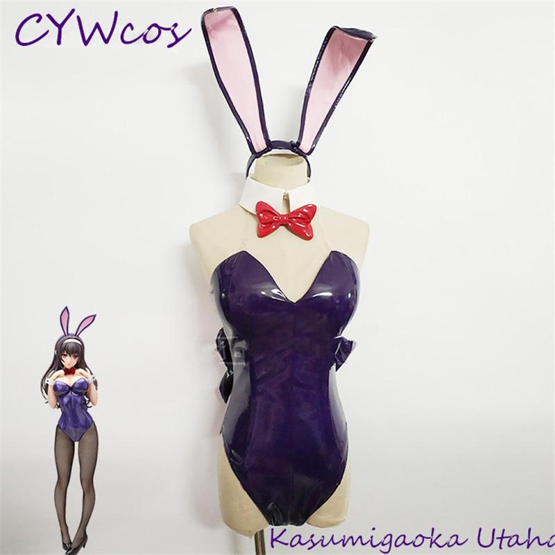 New Eriri Spencer Sawamura Bikini Cosplay Saekano Grils Lovely Swimsuit Costumes
