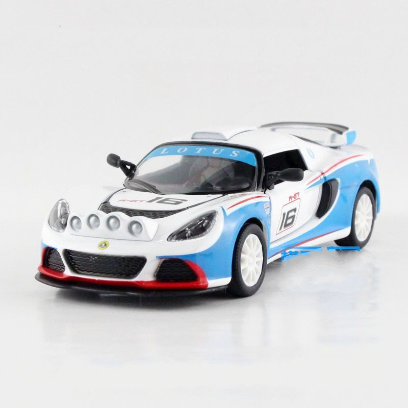 Freeshipping Children UNI-FORTUNE Lotus sports car No.16 Model Car 1:32 5inch Diecast Metal Cars Toy Pull Back Kids Gift