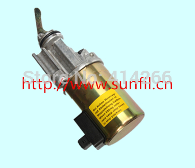 цена на Wholesale Wholesale stop solenoid 0419 9901 for 1012 Engine,24V