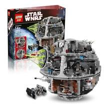 IN STOCK LEPIN 05035 3804pcs Genuine Star Wars Death Star Educational Building Block Bricks Toys Kits