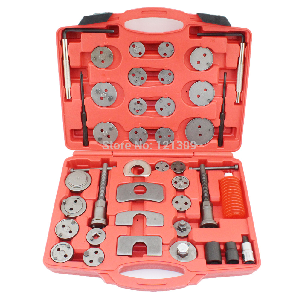 Professional 40PCS Brake Piston Wind Back Tools Kit - AUTO SERVICE TOOL DIY ...