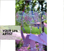Dream Catcher Japanese Style Glass Wind Chimes Birthday Gifts Ornaments nordic decoration Home Furnishings Scandinavian chambre(China)