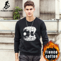 Pioneer Camp 2017 New Autumn winter hoodies men fashion printed 100% cotton Men's Hoodies Fleece sweatshirts male clothes 622094
