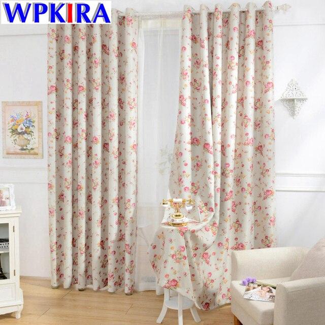 Animal Print Curtains For Living Room Windows Drapes Blackout Panels Nobel Floral Cortina Kitchen