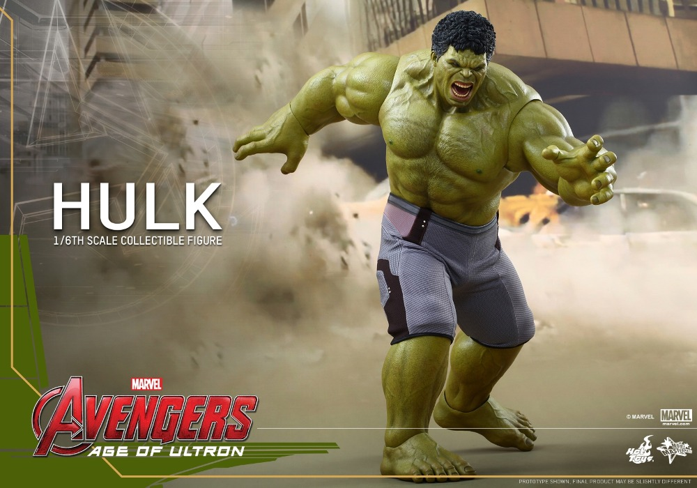 1/6 scale Figure doll Avengers Age of Ultron HULK 12 action figures doll Collectible figure Plastic Model Toys 2.0