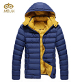 2016 Winter Cotton Solid XL High Quality Brand Clothing Parka Hooded Winter Jackets Duck Down Jacket Men Chaqueta Hombre