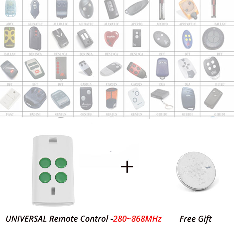 Auto Scan Universal Multi Frequency Fixed Code Rolling Code Remote Transmitter Clone /Duplicator 280MHz-868MHz