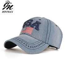2016 New arrival high quality snapback cap cotton baseball cap USA flag embroidery hat for men women unisex cap B351(China)