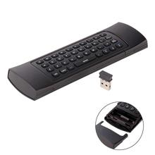 2.4G Wireless Keyboard IR Controller For Smart TV BOX PC Android Mini Touchpad Mouse Gaming Keyboard for Notebook PC MX3