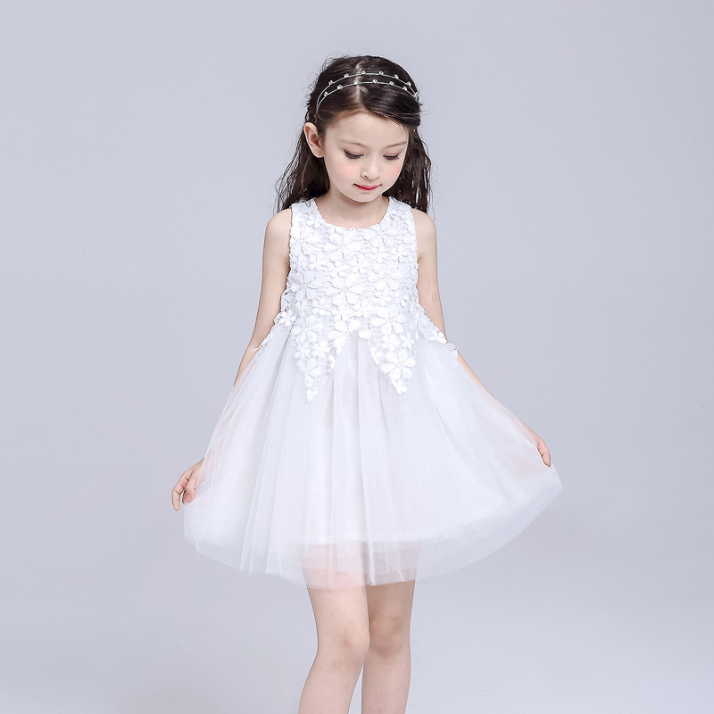 a1c5ee28c Girl Formal Party Princess Dress Girls High Quality Lace Wedding ...