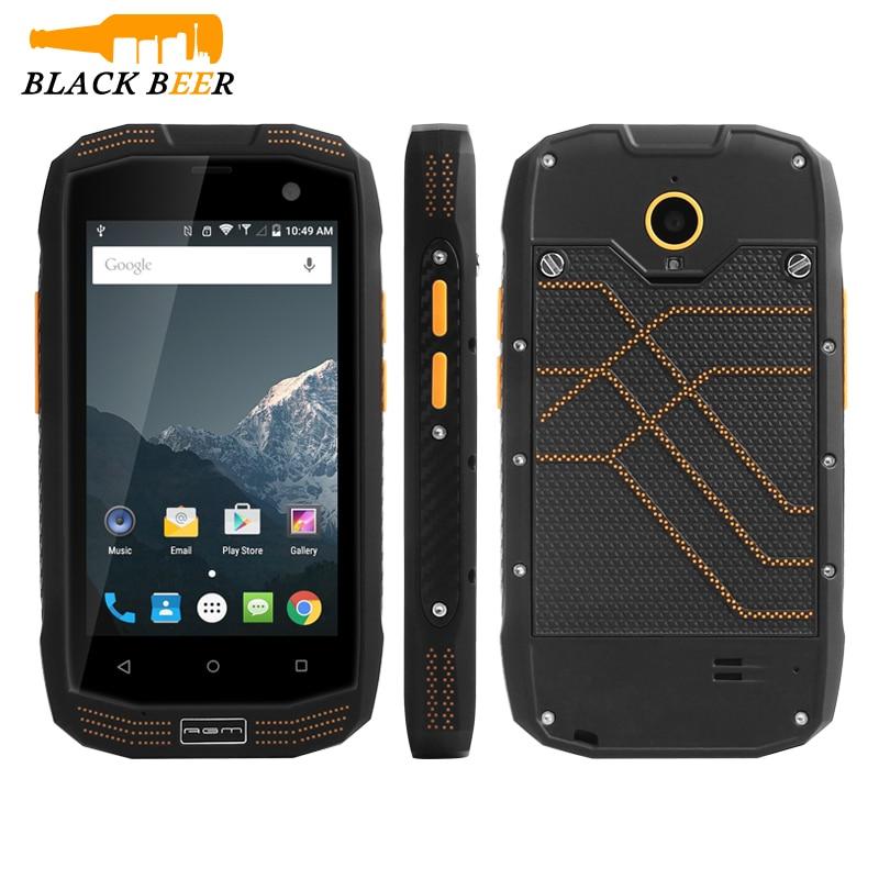 bilder für Original AGM A2 Rio 4G LTE IP68 Wasserdichte Handy 2 GB RAM 16 GB ROM Rugged Smartphone Android 5.1 NFC GPS GLONASS SOS