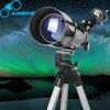 AOMEKIE HD Astronomical Telescope F40070 Compact Tripod Terrestrial Space Telescope Erecting Image Moon Bird Watching Monocular