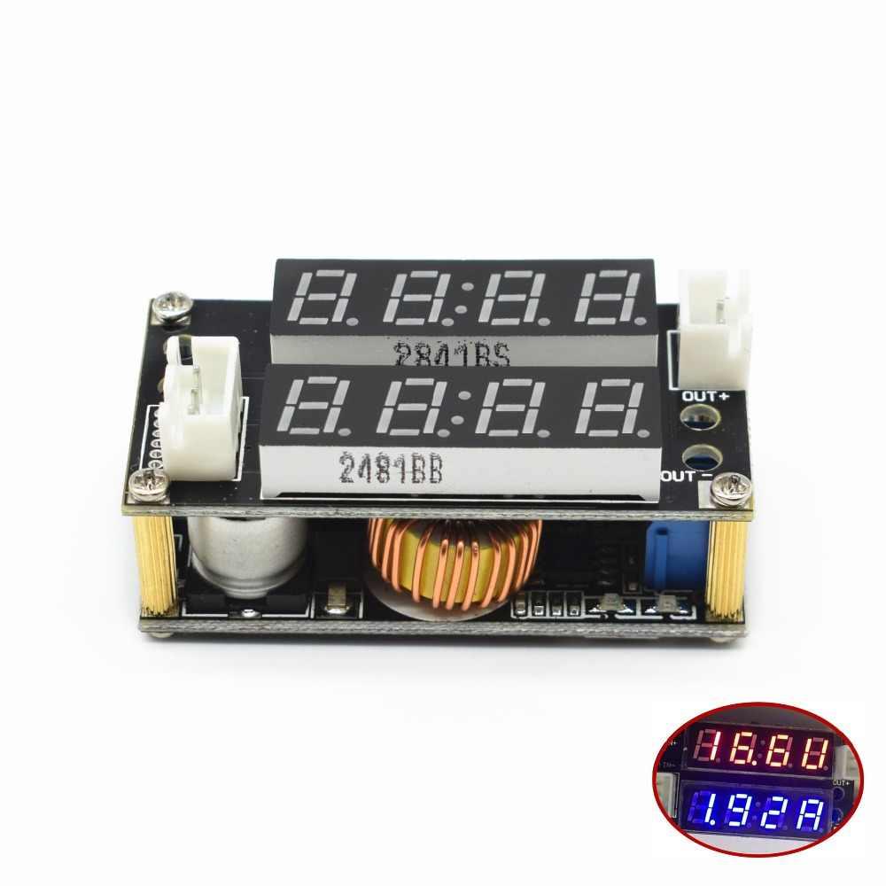 2 en 1 XL4015 5A puissance réglable CC/CV Module de Charge abaisseur LED pilote voltmètre ampèremètre courant Constant tension constante