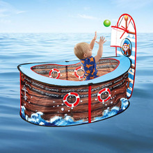 New pirate ship childrens tent game house marine ball pool indoor toy fence for baby gifts