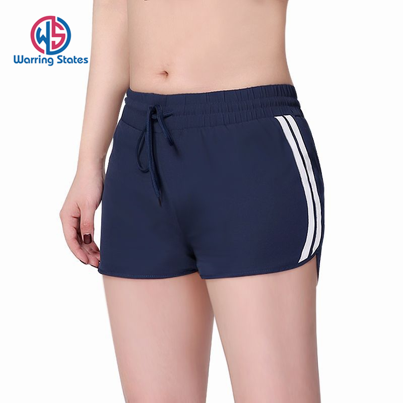 Warring States Hot Sale Yoga Drawstring Shorts Women Loose